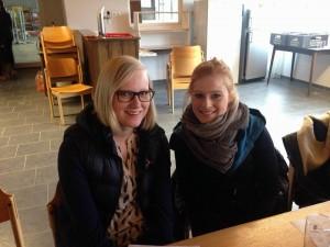 Jugendwarte Vanessa und Pia